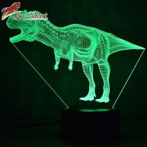 đèn led 3d khủng long bạo chúa