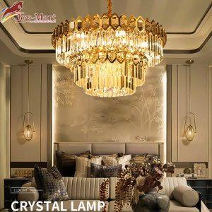 đèn chùm pha lê mới nhất joymart mth6638-800