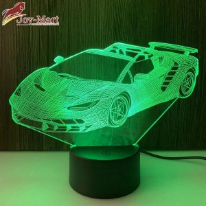 đèn led 3d ô tô giá rẻ