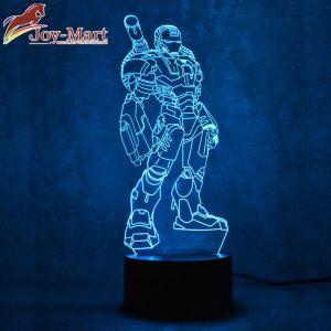 đèn led iron man khổng lồ