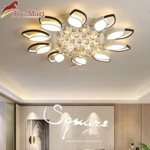 đèn mâm ốp trần trang trí phòng khách hiện đại mop2015