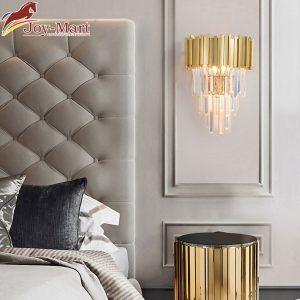đèn treo tường pha lê phòng khách sang trọng mt6619
