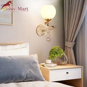 đèn tường đẹp trang trí phòng ngủ hình quả cầu mt8881-1