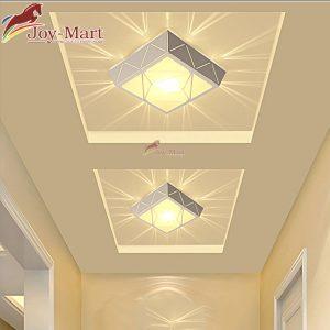 đèn vuông ốp trần đẹp hành lang mop3039v