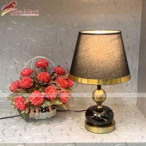 đèn ngủ đế gỗ để bàn khách sạn